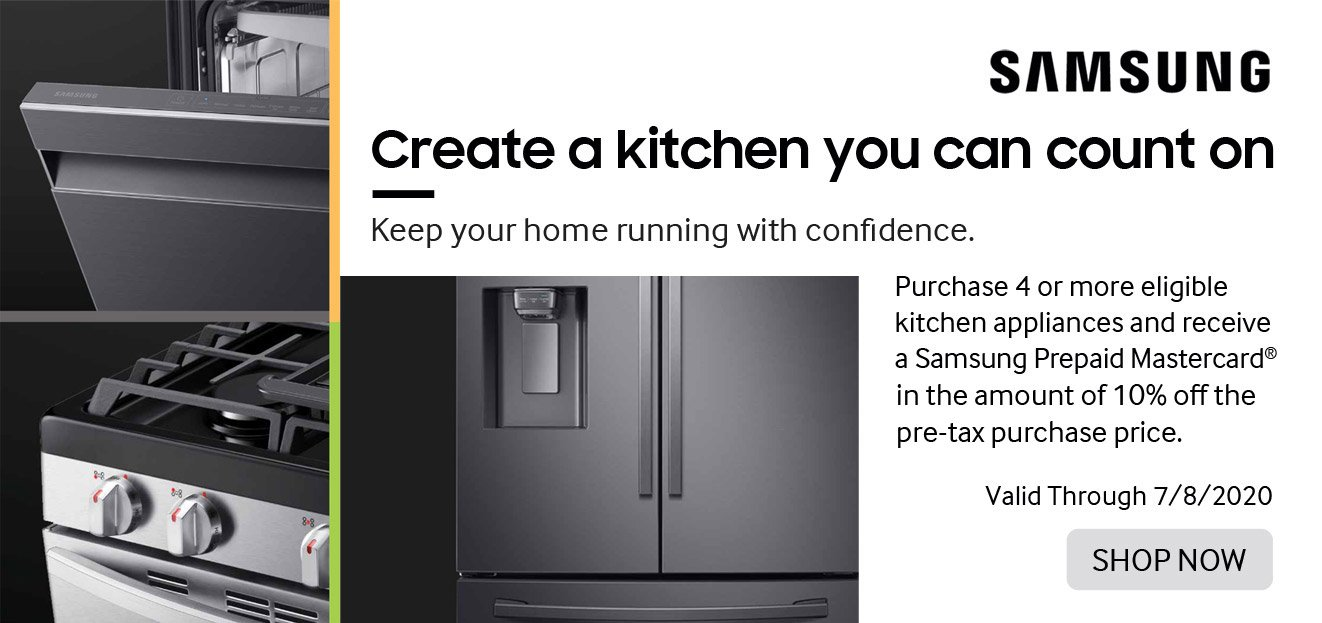 Samsung Create a Kitchen you can Count on